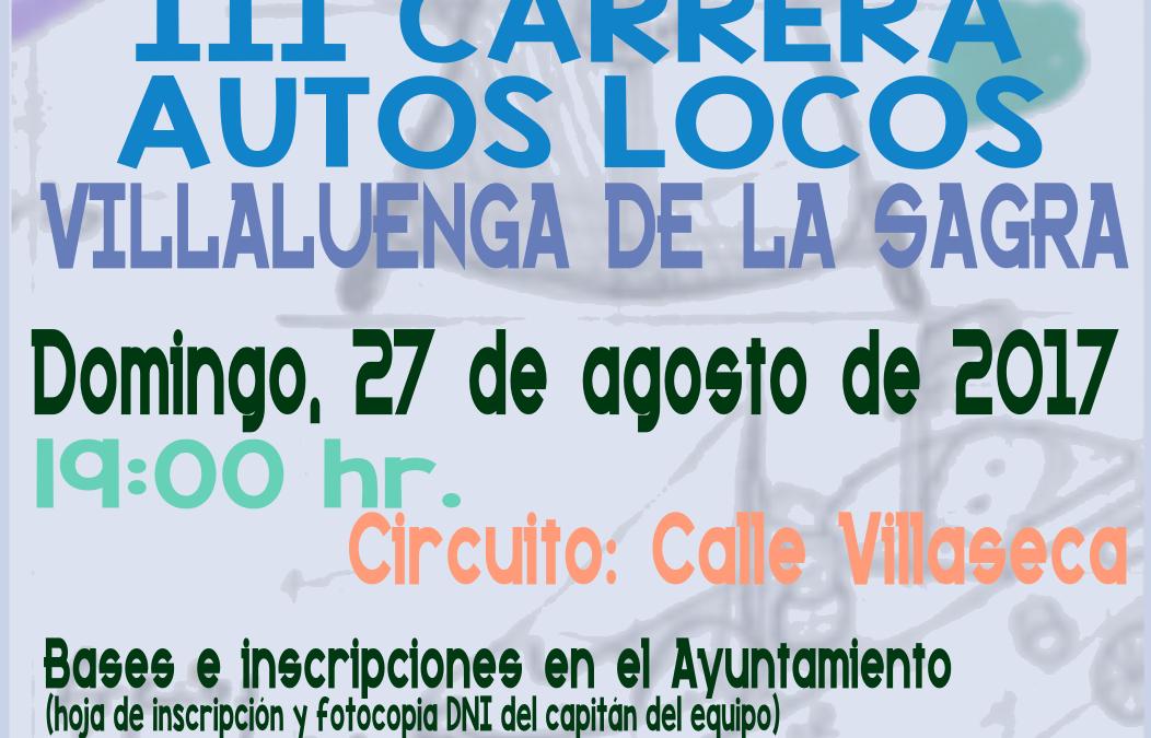 III Carrera Autos-Locos de Villaluenga