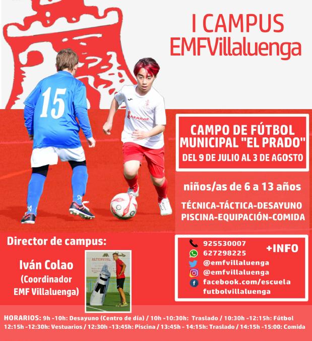 I Campus Escuela Municipal de Fútbol