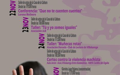 Semana de la Eliminación de la Violencia contra la Mujer