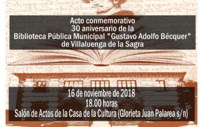 XXX Aniversario de la BPM «Gustavo Adolfo Bécquer»