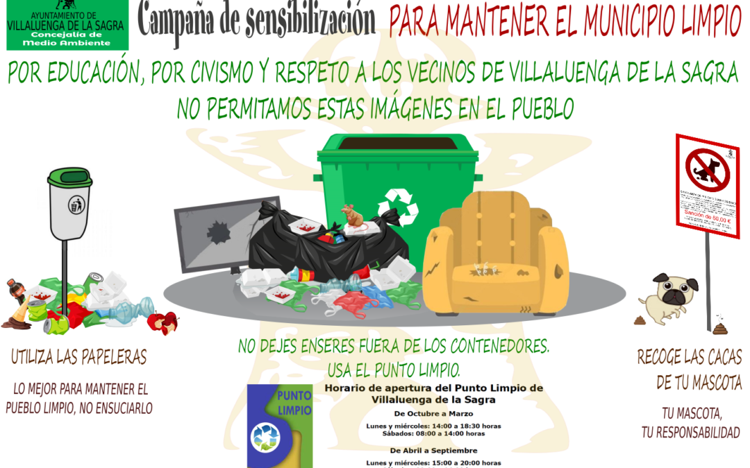Campaña de sensibilización medioambiental