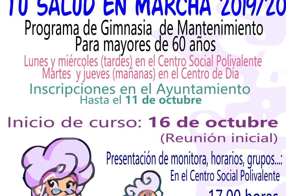 Tu Salud en Marcha 2019-2020