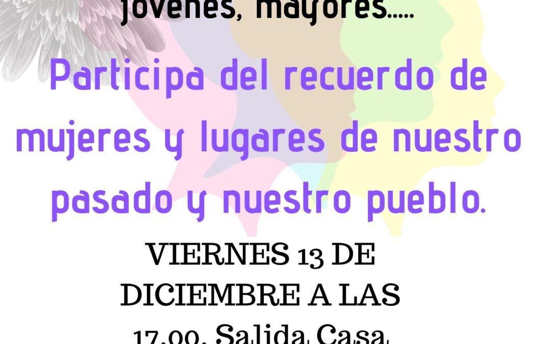 Acto del Consejo de Igualdad de Villaluenga
