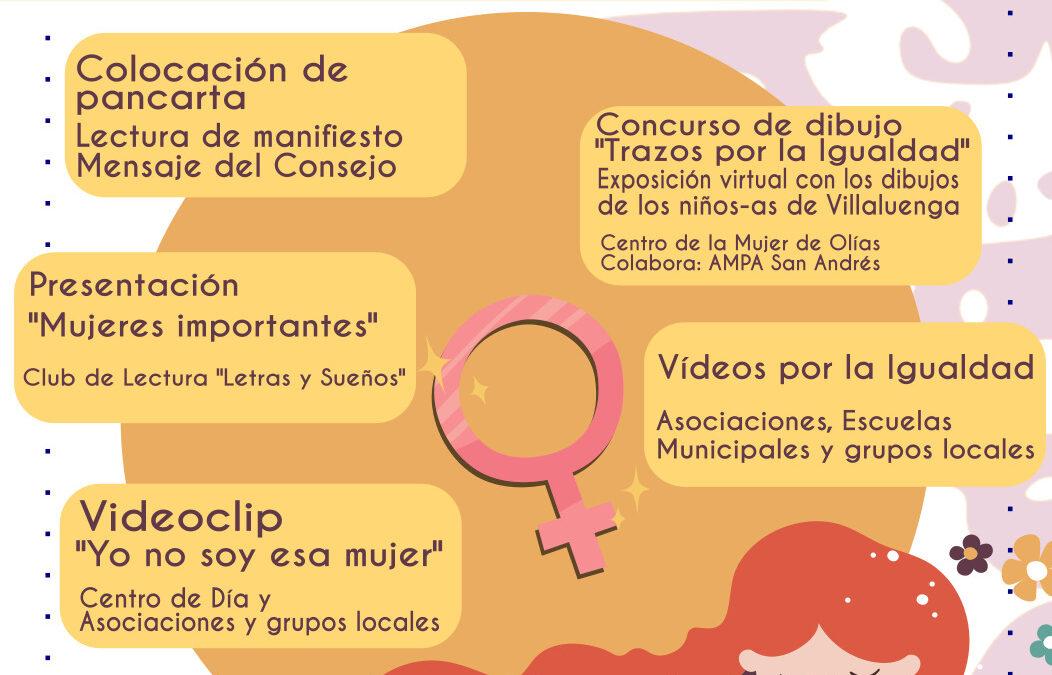 Día Internacional de la Mujer – Actos Villaluenga