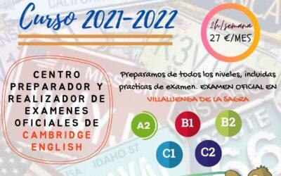 Escuela de Idiomas – Curso 2021-22