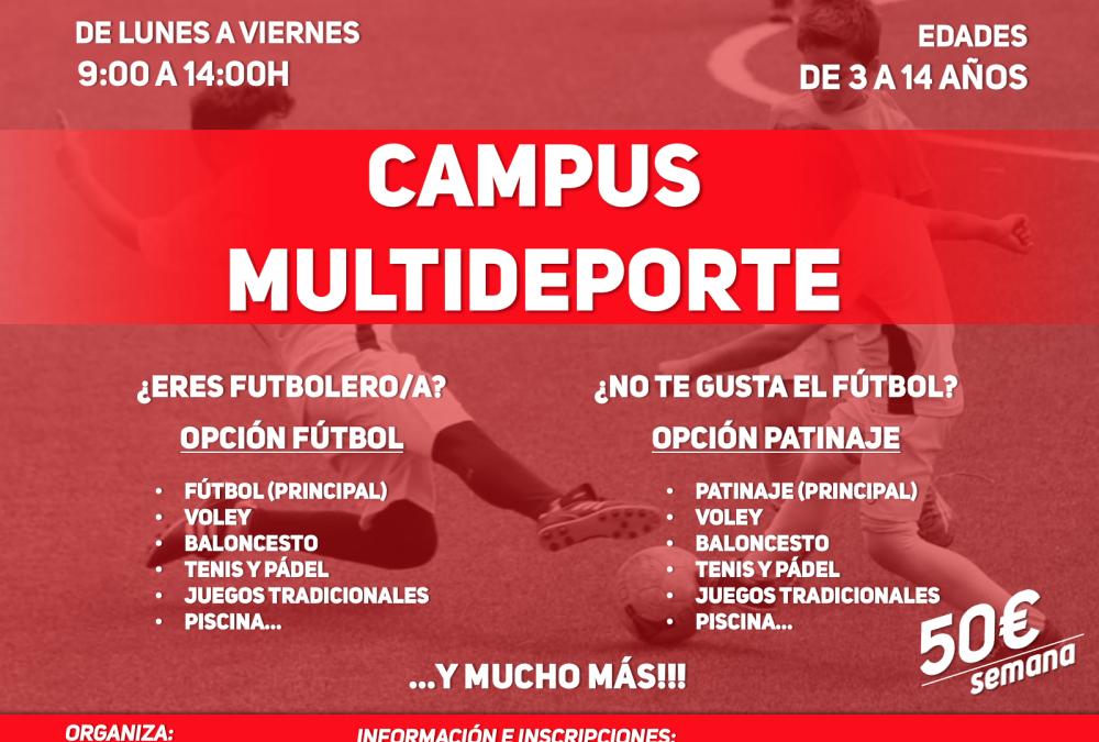 Campamento Multideporte verano 2021