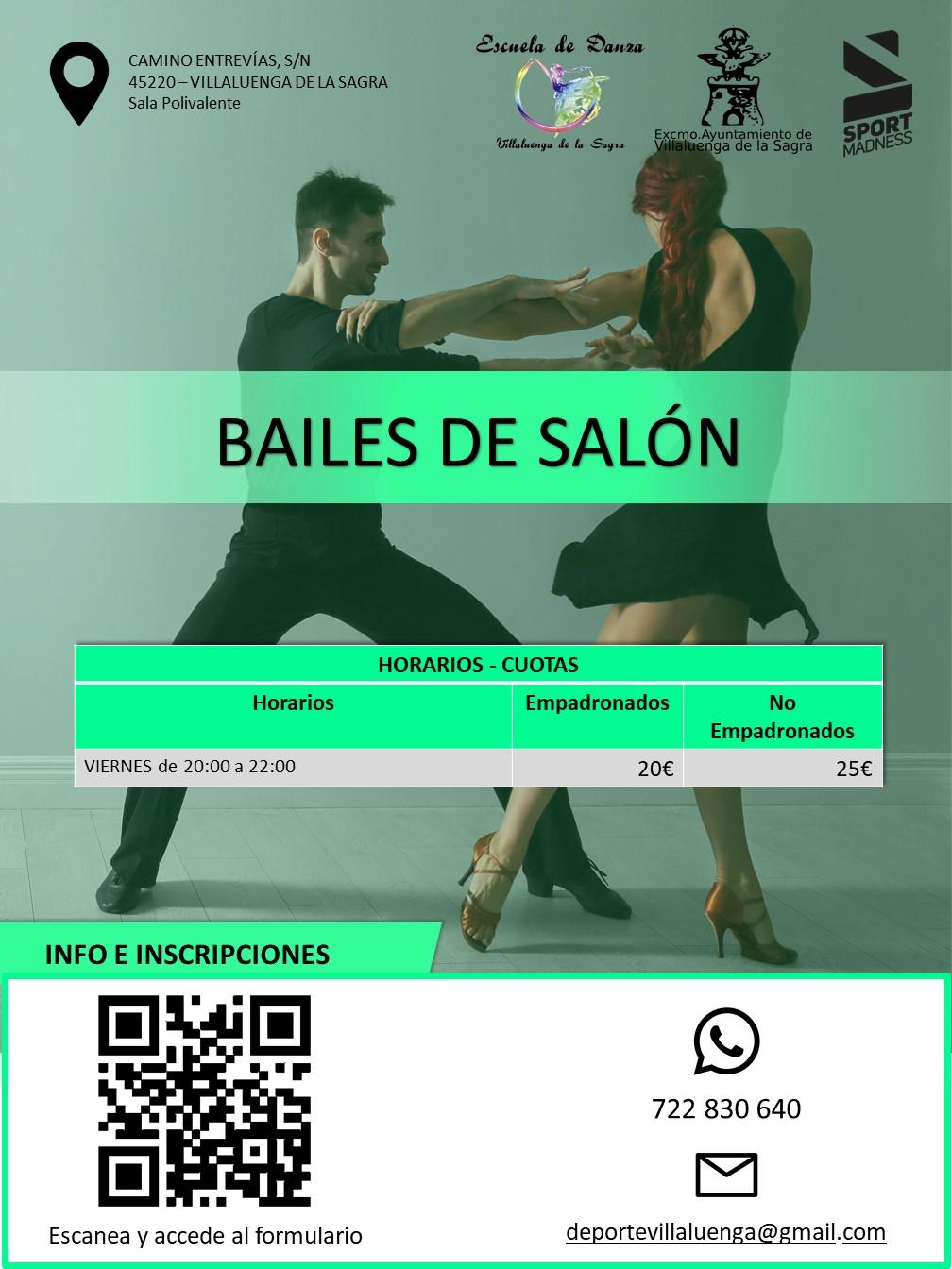 CARTEL BAILES DE SALÓN