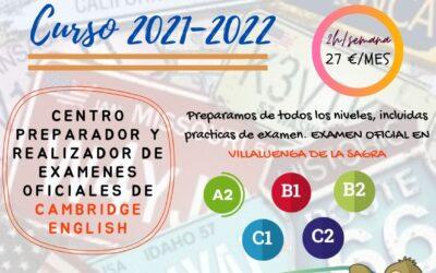 Escuela Municipal de Idiomas – Curso 2021-22